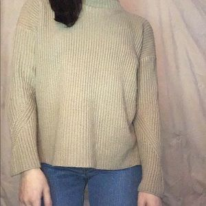 Tops - Cream knit sweater